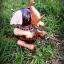 โคมไฟกะลามะพร้าวช้างนั่งชูงวง thumbnail 2
