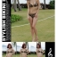 พร้อมส่ง ชุดว่ายน้ำบิกินี่ทูพีชลายเสือ พร้อมชุดเอี๊ยมกางเกงขาสั้นสวยเซ็กซี่ thumbnail 11