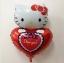 ลูกโป่งฟลอย์ Hello Kitty หัวใจ I Love You สีแดง - Hello Kitty I Love You heart Foil Balloon / Item No. TL-E022 thumbnail 2
