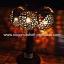 Coconut Shell Lamp (โคมไฟต้นมะพร้าว โคม 3 ลูก) thumbnail 1