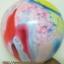 """ลูกโป่งกลมพิมพ์ลาย สีรุ้ง ไซส์ 12 นิ้ว แพ็คละ 5 ใบ (Round Balloons 12"""" - Rainbow Printing latex balloons) thumbnail 4"""