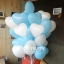 """ลูกโป่งหัวใจ เนื้อสแตนดาร์ทสีฟ้าอ่อน ไซส์ 12 นิ้ว แพ็คละ 10 ใบ (Heart Latex Balloon - Light Blue Color 12"""") thumbnail 2"""