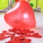 """ลูกโป่งหัวใจ สีแดง ไซส์ 11 นิ้ว แพ็คละ 10 ใบ (Heart Latex Balloon - Red Color 11"""") thumbnail 5"""