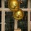 """ลูกโป่งฟอลย์ ทรงกลมลูกบอลสีทอง ไซส์ 22"""" ORBZ GOLD / Item No.TQ-A2820599 แบรนด์ Qualatex thumbnail 1"""