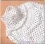 เสื้อคลุมท้องลายไม้แขนยาว ลายดอกไม้ : สีขาว รหัส SH178 thumbnail 9