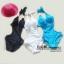 พร้อมส่ง ชุดว่ายน้ำวันพีซ Monokini สายคล้องคอแบบผูก เว้าช่วงเอว ดูเซ็กซี่มากๆ thumbnail 7