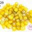 ลูกปัดแก้ว ทรงกระบอก สีเหลือง 6มิล(1ขีด/100กรัม) thumbnail 1