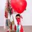 """ลูกโป่งหัวใจจัมโบ้ไซส์ใหญ่ 36"""" Latex Balloon HB Balloon RED 3FT สีแดง/ Item No. TQ-44353 แบรนด์ Qualatex thumbnail 6"""