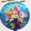 ลูกโป่งฟลอย์ ทรงกลมลายการ์ตูน Minion ตาเดียว - Minion one Eye round Shape Foil Balloon / Item No.TL-A052 thumbnail 3