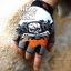ถุงมือ MT06 - Grey Skull - Free size thumbnail 1