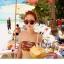 พร้อมส่ง ชุดว่ายน้ำบิกินี่ทูพีซ ลายแตงโมสีสันสดใสน่ารักมากจ้า thumbnail 4