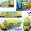 """หมอนข้าง สนูปปี้ Snoopy รถโรงเรียน 26"""" สีเหลือง thumbnail 1"""
