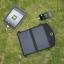 ที่ชาร์จสำหรับสำรองไฟมือถือ โซล่าเซลล์ 7W มีพอร์ตยูเอสบี ชาร์ตมือถือ กล้อง powerbank โน๊ตบุ็ค พกพาง่าย น้ำหนักเบา thumbnail 16
