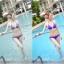 พร้อมส่ง ชุดว่ายน้ำ Bikini ผูกข้าง สายคล้องคอ สุดเซ็กซี่ thumbnail 8