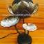 Coconut Shell Lamp (โคมไฟกะลามะพร้าวทรงดอกบัวฉลุลายไทย) thumbnail 2