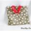 กระเป๋าผ้าสีเขียว งานควินท์ thumbnail 2