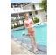 พร้อมส่ง ชุดว่ายน้ำ Bikini ผูกข้าง สีแดงแต้มลายจุดขาวน่ารัก สายคล้องคอ thumbnail 7
