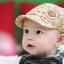หมวกเด็กลายเบสบอล สีเหลือง น้ำตาล เทา ฟ้า ชมพู MC100 thumbnail 1