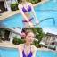 พร้อมส่ง ชุดว่ายน้ำ Bikini ผูกข้าง สายคล้องคอ สุดเซ็กซี่ thumbnail 6