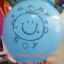 """ลูกโป่งกลมพิมพ์ลาย Baby Boy / Baby Girl ไซส์ 12 นิ้ว 4 ใบ มีสีฟ้าและชมพู กรุณาระบุสีที่ต้องการเมื่อสั่งซื้อ (Round Balloons 12"""" - Baby Boy Baby Girl Printing latex balloons) Item No. TL-C007/C008 thumbnail 3"""