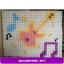 กรอบใส่กำแพงลูกโป่ง ไซส์เล็ก/ชิ้น Wall balloon Grid -small - 30 X 30 cm/ Item No.B411 thumbnail 1
