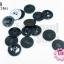 กระดุมพลาสติก สีดำ 20มิล (1ขีด/100กรัม) thumbnail 1