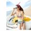 พร้อมส่ง ชุดว่ายน้ำทูพีซ บรา+กางเกงขาสั้น สีรุ้งสดใสสวยๆ thumbnail 2