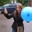 ลูกบอลเด้ง พิมพ์ลาย คละไซส์ คละสี แพ็ค 5 ใบ - Punch Ball Printing Mixed Size & Color Pack 5 thumbnail 14