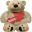 ลูกโป่งฟลอย์นำเข้า Cuddly Bear Love / Item No. AG-23215 แบรนด์ Anagram ของแท้ thumbnail 1