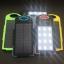 แบตสำรอง Power Bank พลังงานแสงอาทิตย์ 3 ระบบ สามารถชาร์จไฟบ้านได้ และมีไฟฉายในตัว กันน้ำได้ Solar Charger with LED Light ขนาด 50000 mAh thumbnail 3