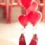 """ลูกโป่งหัวใจ สีแดง ไซส์ 11 นิ้ว แพ็คละ 10 ใบ (Heart Latex Balloon - Red Color 11"""") thumbnail 4"""