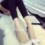 รองเท้าหนังสีขาวติดโบว์ thumbnail 7