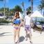 พร้อมส่ง ชุดว่ายน้ำคู่รัก ชุดว่ายน้ำบิกินี่ทูพีซ บราแต่งระบายสวย สายคล้องคอ กางเกงบิกินี่ผูกข้างสวยเก๋ thumbnail 8