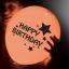 ลูกโป่ง LED พิมพ์ลาย Happy Birthday คละสี แพ็ค 5 ชิ้น ไฟสลับสี (LED Balloon Happy Birthday Mixed Color - LED RGB) thumbnail 6