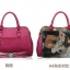 กระเป๋าหนัง pu เกรด A แบรนด์ OPPO สีชมพูอมม่วงลายลีโอ ทรงแอร์เมท(รับประกันของแท้ เหมือนแบบ 100%) thumbnail 3