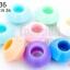 ลูกปัดพลาสติก สีพาลเทล จานบิน คละสี 9X16มิล(1ขีด/100กรัม) thumbnail 1