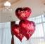 ลูกโป่งฟลอย์รูปหัวใจ สีแดง พิมพ์ลาย I LOVE YOU ไซส์ 18 นิ้ว - Love Series Heart Shape Foil Balloon / Item No. TL-E033 thumbnail 1
