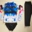 ชุดว่ายน้ำแขนยาว กางเกงสามส่วน เสื้อคัลเลอร์ฟูลสีสดใส เซ็ต 3 ชิ้น เสื้อ+บิกินี่+ขายาว thumbnail 11