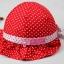 หมวกเด็กหญิง สีชมพูเข้ม สีชมพู สีแดง สีฟ้า PB14 thumbnail 4