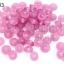 ลูกปัดแก้ว ทรงจานบิน สีม่วงอ่อน 8มิล(1ขีด/100กรัม) thumbnail 1