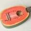 """อูคูเลเล่ Ukulele Kaka รุ่น Water melon Soprano 21"""" Bass wood สาย Aquila แถมกระเป๋า thumbnail 3"""
