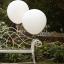 ลูกโป่งจัมโบ้ สีขาว ขนาด 36 นิ้ว - Round Jumbo Balloon White thumbnail 2