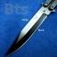 มีดควง (Butterfly Knife หรือ Balisong) Black&White thumbnail 2