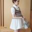 K92004 เสื้อคลุมท้องแฟชั่นเกาหลี โทนสีขาว ผ้านิ่มใส่สบาย ใส่แล้วรับรองน่ารักค่ะ thumbnail 3