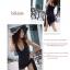 พร้อมส่ง M-3XL ชุดว่ายน้ำวันพีซสีดำ กระโปรงดีไซน์สุดเก๋ สามารถใส่ได้หลายรูปแบบ thumbnail 5
