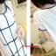 K4015 เสื้อคลุมท้องแฟชั่นเกาหลี มี 2 สีให้เลือก ลายตารางแขนแต่งด้วยผ้าลูกไม้มีซัปในทั้งตัว งานดีค่ะ thumbnail 6