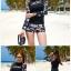 ชุดว่ายน้ำแขนยาว โทนสีดำ ลายสวย Love_XOXO thumbnail 3