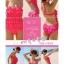 พร้อมส่ง ชุดว่ายน้ำวันพีซ Monokini สายเสื้อเดี่ยว แต่งระบายด้านหน้า หลังเว้าลึก น่ารักสไตล์เกาหลี thumbnail 47
