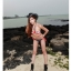พร้อมส่ง ชุดว่ายน้ำ Bikini ผูกข้าง บราสายคล้องคอลายธงชาติสวยๆ thumbnail 10