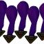 ลูกโป่ง LED สีม่วง แพ็ค 5 ชิ้น ไฟเปลี่ยนสี RGB mode (Purple Color Balloons - LED RGB Mode) thumbnail 1